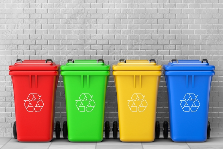 Kitchen Trash And Recycle Bins: 8 Different Types Of Recycling Bins